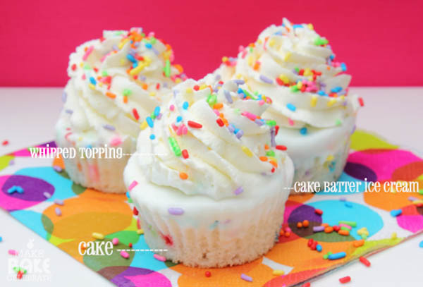 box white or confetti cake mix (plus ingredients listed on box)