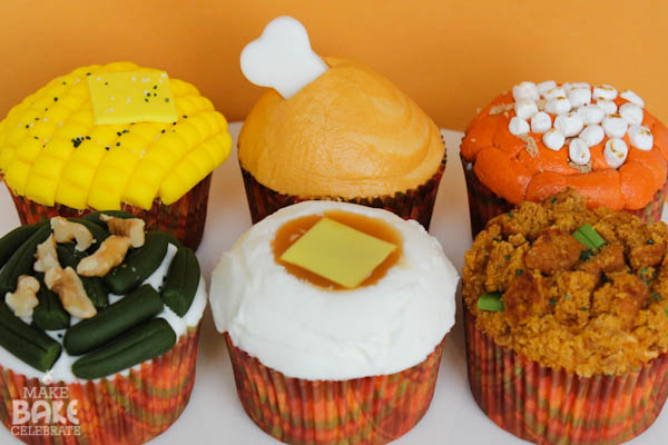 recipe: thanksgiving dinner cupcakes [3]