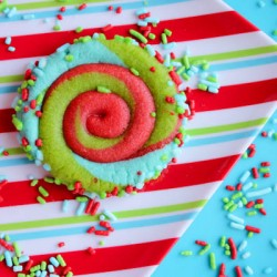 Christmas Swirly Cookies