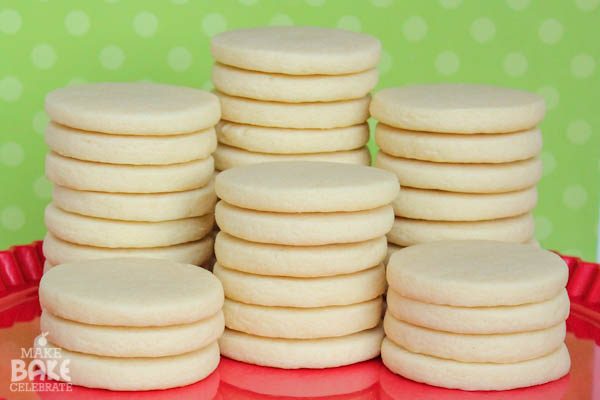 Recipe of rolled cookies