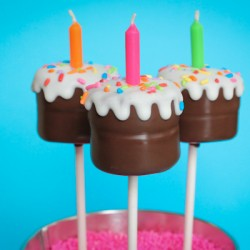 Birthday Cake Cake Pops