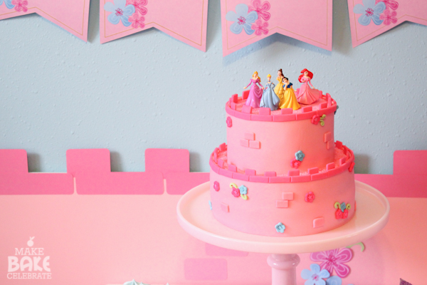Homemade Castle Birthday Cake Ideas