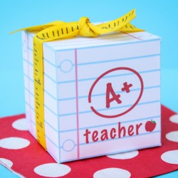 Teacher Appreciation Printable Box