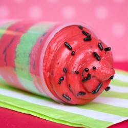 Watermelon Push Pops