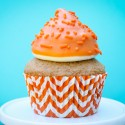 Pumpkin High Hat Cupcakes