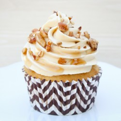 Maple Butter Pecan Cupcakes