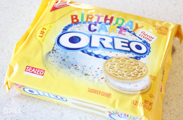 Golden Birthday Cake Oreos Birthday cake oreo truffles