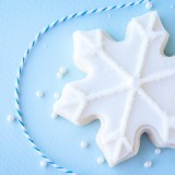 Snowflake Cookies + Printable