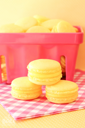 Triple Lemon Macarons