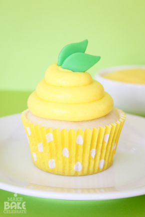 Lemon Pudding Cupcakes