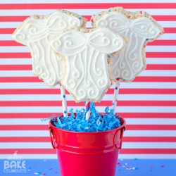 Uncle Sam Rice Krispie Pops
