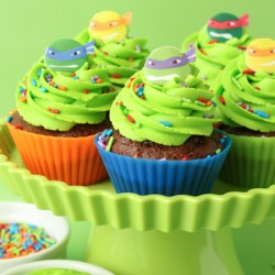TMNT Cupcakes & New York Baking Company Silicone Baking Cup Review