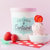 Strawberries & Cream Ice Cream