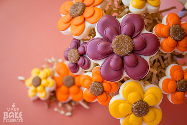 Fall Cookie Bouquet