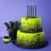 Spooky Rock Candy Cake