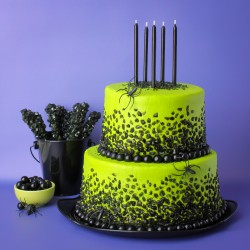 Spooky Rock Candy Cake For BHG!