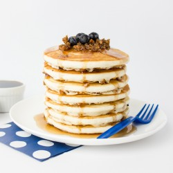 Krusteaz Blueberry Sausage Pancakes