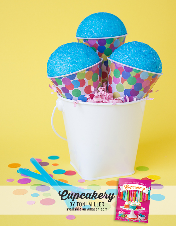 Cupcakery Book Blue Raspberry Cupcakes