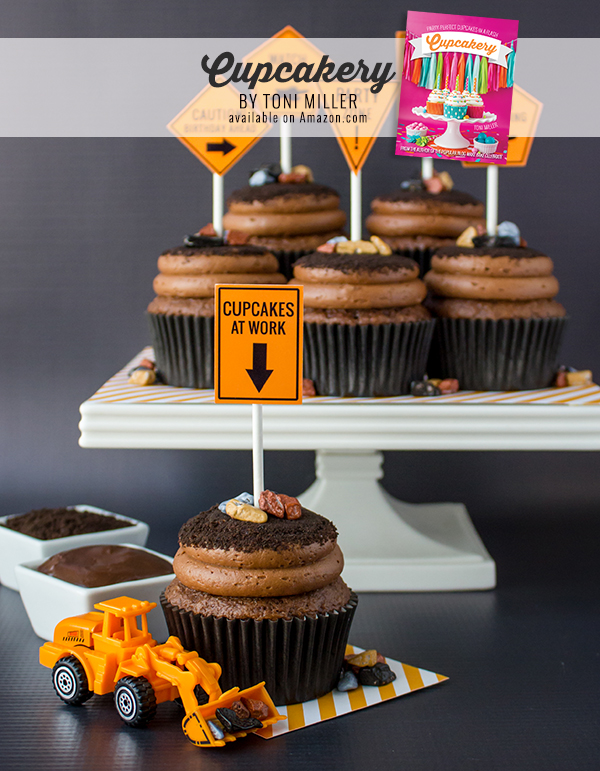 Cupcakery Book Dirt Pudding Cupcakes