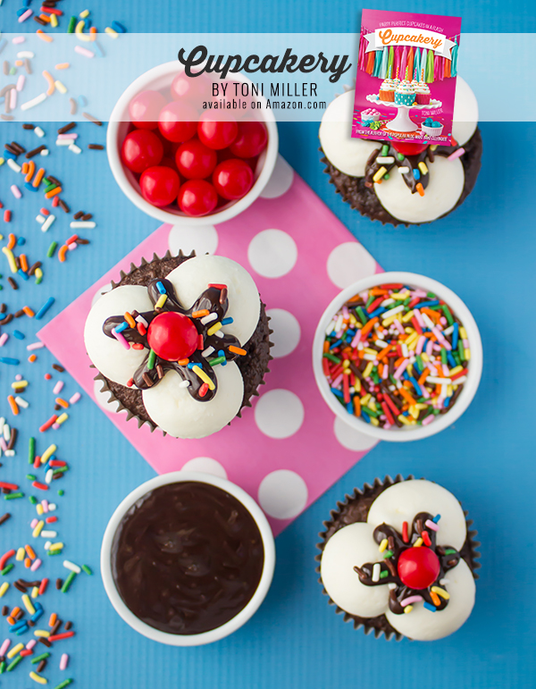 Cupcakery Book Ice Cream Sundae Cupcakes