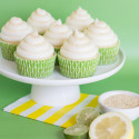 Lemon-Lime Cheesecake Cupcakes