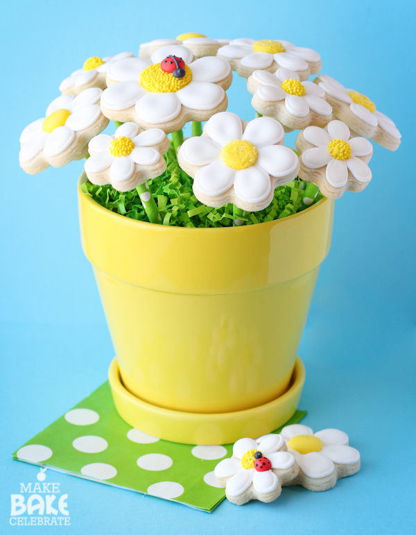 Daisy Cookie Bouquet Tutorial