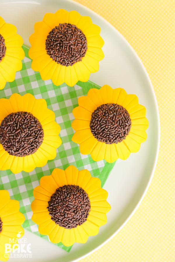 Sunflower Cupcake Tutorial