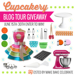 Cupcakery Blog Tour Giveaway!