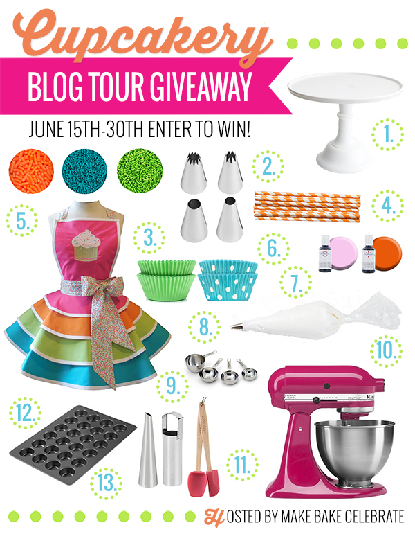 Cupcakery Blog Tour Giveaway