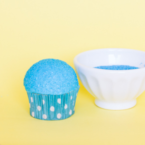 Snow Cone Cupcake Tutorial