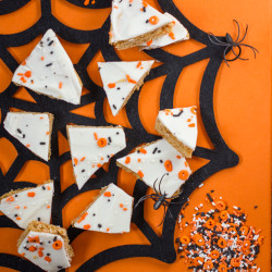 Pumpkin Snickerdoodle Cookie Bark