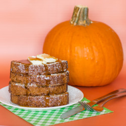 Pumpkin French Toast With Krusteaz!