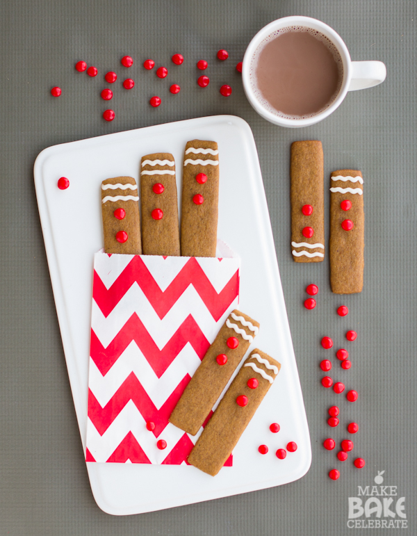 Gingerbread Cookie Sticks