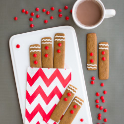 Gingerbread Cookies Sticks