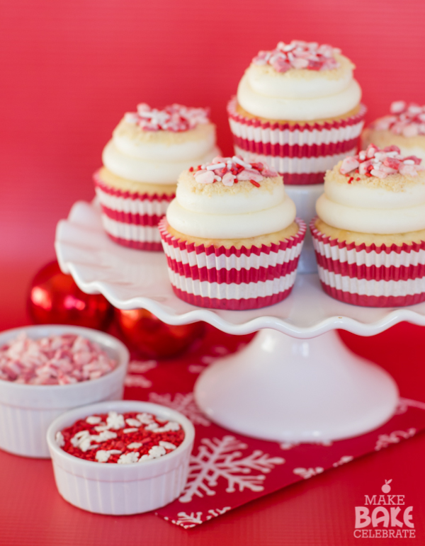 Peppermint Cheesecake Cupcakes