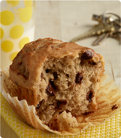 krusteaz-banana-chocolate-chunk-muffins