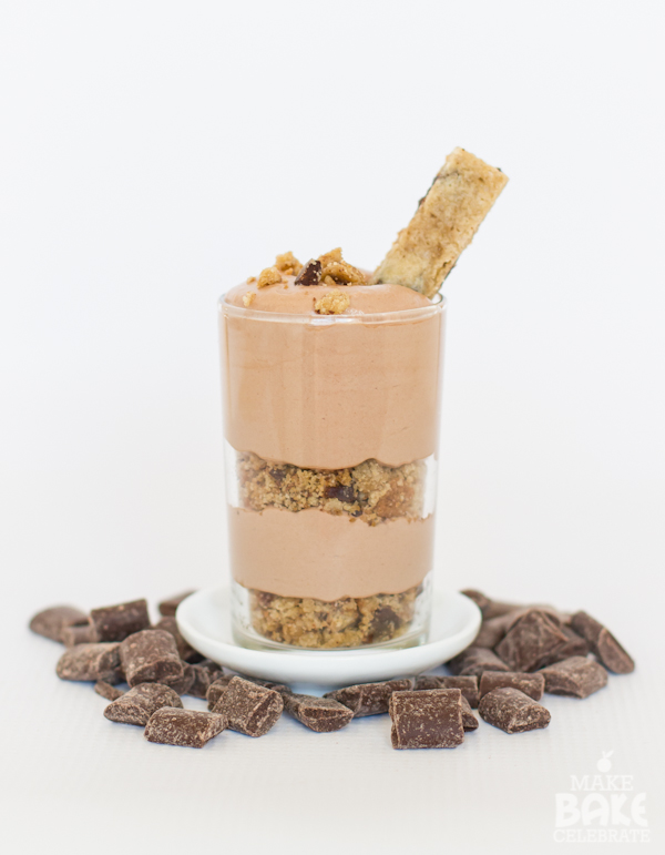 Chocolate Chip Cookie Mousse