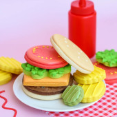 Build Your Own Burger Cookies