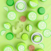 Fondant Lime Topper Tutorial