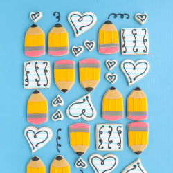 Pencil Cookies – You're On Point!