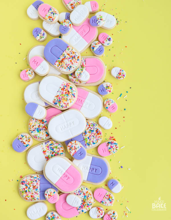 Happy Pill Cookies