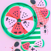 Watermelon Cookie Tutorial