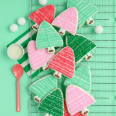 Bottle Brush Cookie Tutorial