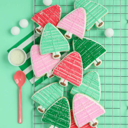 Bottle Brush Cookies