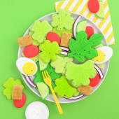 Salad Sugar Cookie Tutorial