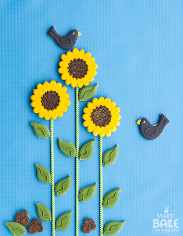 Sun Flower Cookies